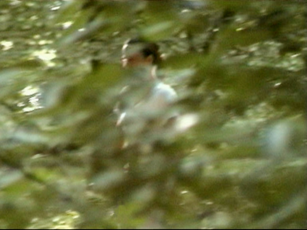 "Still from 8mm film ""ATTACK/ATTACKED"", camera 2, 1996"