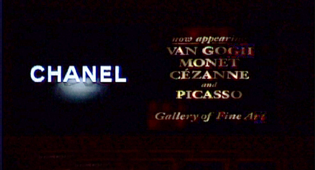 "Still from ""bliss on earth"", 1999, Mini-DV, Loop, 12 min., color, no sound"