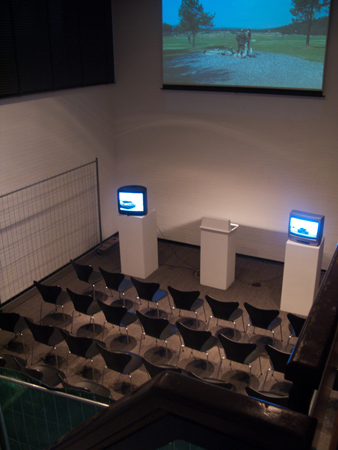 Installation view at Kunsthalle Bremerhaven, 2010, cabinet