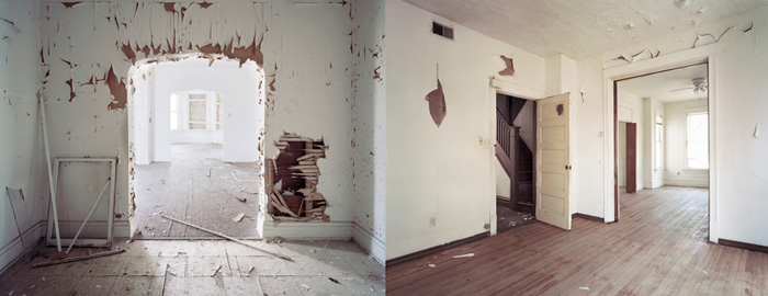 """the real estate, #10, #11"", 2009, Inkjet-prints, 80 x 100 cm each"