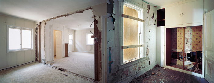 """the real estate, #12, #13"", 2009, Inkjet-prints, 80 x 100 cm each"
