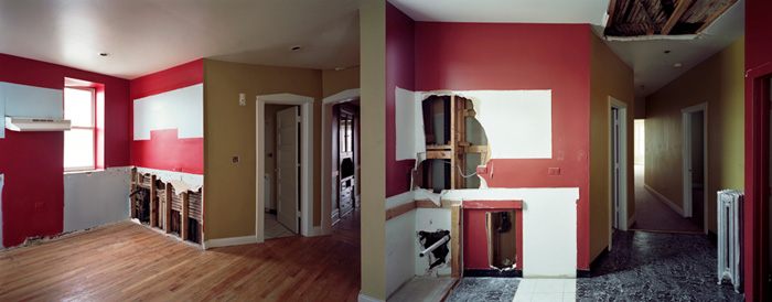"""the real estate, #2, #3"", 2009, Inkjet-prints, 80 x 100 cm each"