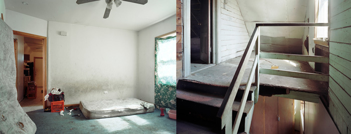 """the real estate, #41, #42"", 2009, Inkjet-prints, 80 x 100 cm each"
