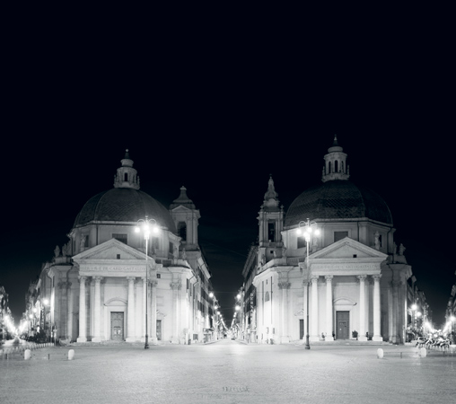 """from Las Vegas to Rome, #25"", 2003, C-print, 105 x 126 cm"