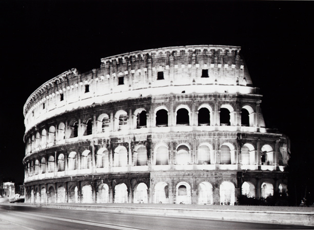 """from Las Vegas to Rome, #7"", 2003, C-print, 105 x 126 cm"