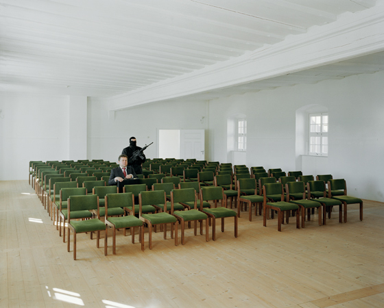 &quot;LEVEL IV: THE CASTLE, CONCERT HALL, SECOND FLOOR&quot;, 2005, <br />Inkjet-print, 100 x 120 cm
