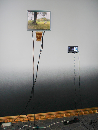 Installation detail, Edith-Russ Site for Media Arts, 2006